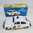Внешний вид -  Vintage toy car Volkswagon VW Beetle Auto Ambulance wind up car siren w/ Box