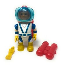 Vintage Eldon Billy Blastoff Space Astronaut Red Jet Pack With Face Mask & Phone