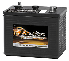 DEKA GENUINE NEW 902 6Volt Commercial Battery 830Amp Cranking Power (Group 2)