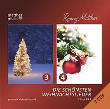 Die schönsten Weihnachtslieder, Vol. 3 & 4 [Gemafreie Weihnachtsmusik] 2 CDs
