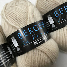 Knitting Yarn ~ Bergere Berlaine DK ~ 50g balls 100% wool ~ unshrinkable !