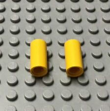 LEGO Technic Pin Connector Smooth Round 2L Pin Joiner Pair Yellow 8431 7261 8455