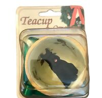 Black Schnauzer Ornament Teacup Ornament Dog Gift New