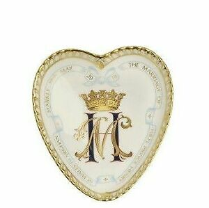 Royal Crown Derby, Harry & Meghan-A Royal Wedding Heart Tray