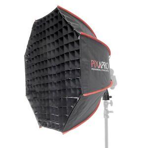 Speedlight Softbox with Fixed Round Head Bracket Photography Modifier 70cm