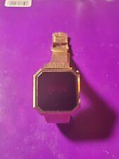 Vintage New York Mercury Time LED Watch