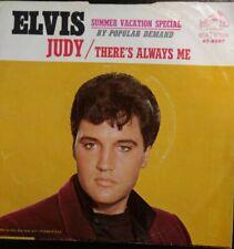 Elvis Presley-Judy 45 Picture Sleeve