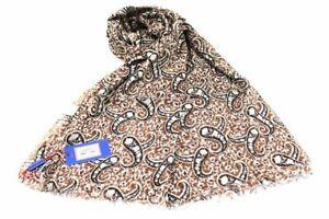 Man's scarf 100% cotton pashmina Gian Marco Venturi 58070 Beige Italian Fashion