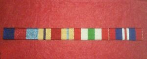WW2 SEW-ON MEDAL RIBBONS/BADGES 1939-45 STAR;AFRICA STAR;ITALY STAR;WAR MEDAL