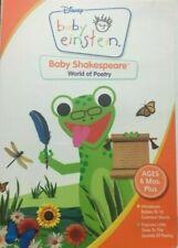Baby Einstein - Baby Shakespeare - World of Poetry (DVD, NEW, 2002) Disney