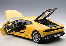 Autoart Lamborghini Huracan Lp610-4 Giallo Horus/Matt Yellow 1/12 Scale In Stock