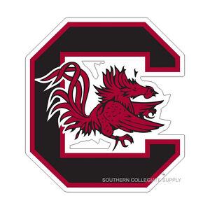 USC SOUTH CAROLINA Gamecocks Large Logo Cornhole Decals / SET of 2