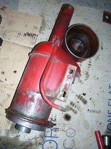 VINTAGE  MCCORMICK FARMALL  H  TRACTOR -AIR CLEANER ASSEMBLY- 1951
