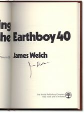 Riding the Earthboy 40: Poems - Signed by James Welch - First Edition Hardcover