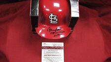Bruce Sutter Signed Auto Cardinals Mini Batting Helmet  W/2 Inscriptions  JSA