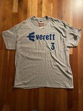 X-LARGE Everett AquaSox Julio Rodriguez #3 MiLB Minor League Baseball T-shirt XL
