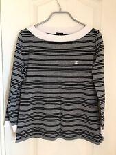 Chanel stripe Top Size44
