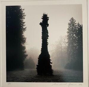 Michael Kenna photograph Totem Tree, Pruhonice, Czechoslovakia, 1992, #5/45