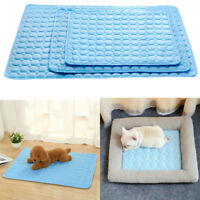 4 Sizes Pet Cooling Gel Mat Dog Cat Bed Non-Toxic Cool Dog Summer Pad Dog Bed