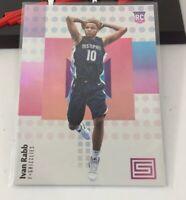 Ivan Rabb Rookie Card Status Panini Memphis Grizzlies 2018 #139