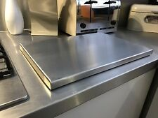 Large Solid Stainless Steel Chopping board - Commercial grade stainless steel