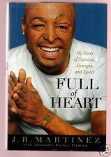 FULL OF HEART-ALL MY CHILDREN.DANCING WITH THE STARS J.R. MARTINEZ SIGNED 1ST