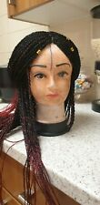 Senegalese Twist Wig, Braided Wig, Ombre Wig