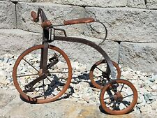 AWESOME!!! Tricycle Wood & Metal Antique Salesman Sample? Late 1800's? 3 wheel