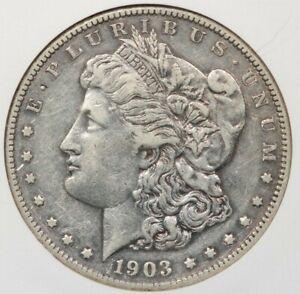 1903-S 1903 Morgan Silver Dollar NGC XF45