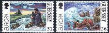 GUERNSEY 1997 ARTE.LEYENDAS. TEMA EUROPA 744/45 2v.