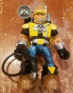 Fisher Price Rescue Heroes Construction Worker Toy Action Figure