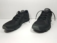 NIKE FREE RUN TR 5.0 V3 Men's Running Shoes  Triple Black 511018 003 Sz 13