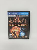 Mortal Kombat (Sony PlayStation Vita, 2012) Tested and Works