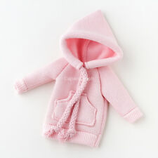 Neo Blythe, Pullip Doll Outfits Clothes Hoodie Long Sleeves Top - Pink