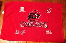 "Lehigh Valley Outlawz Souvenir Towel Red 18""x24"" Wachovia Nazareth Karate Academ"