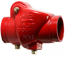 3 Check Valve Groove X Groove 300psi Ulfm Fire Protection