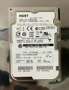 "HGST HUC156060CSS200 600GB 15K RPM 12Gb/s 128MB 2.5"" SAS Drive"