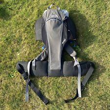 LittleLife ULTRALIGHT Baby Carrier Backpack - Baby Toddler Holder - Black/Grey