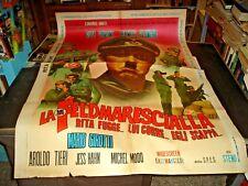 Die Feldmarescialla Manifesto 2F Original 1967 Rita Pfau M.Garcia (T.Hill)