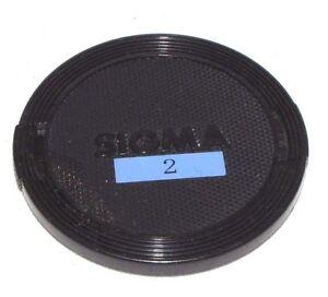 Usé Sigma 58mm Lentille Avant Casquette Fabriqué En Japon Encliquetable B01523