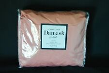 Charter Club Damask Solid Queen Sheet Set CORAL Supima Cotton