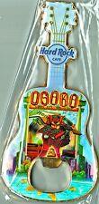 Hard Rock Cafe OSAKA V8 City Guitar Bottle Opener Magnet
