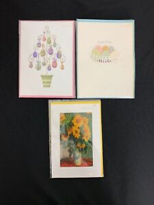 Lot Of 8 Papyrus Happy Easter Holiday Greeting Cards New