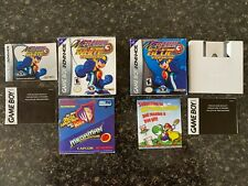 Megaman Battle Network 3 White and Blue Original Boxes (Games Not Included)