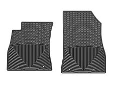 WeatherTech All-Weather Floor Mats for Nissan Sentra 2013-2018 1st Row Black