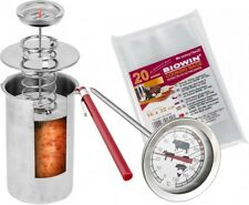 PRESSURE HAM COOKER 1,5KG Cookers Boiler Meat Pot Pan Stainless Steel Kitchen