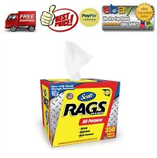 Scott Shop Rags In a Box (350 sheets)