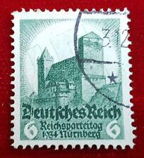 Briefmarke Deutsches Reich 6 Pfennig Reichsparteitag 1934 Nürnberg Nr.546 (1C5)