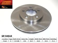 Disc Brake Rotor-Rear Disc Front Best Brake GP54010