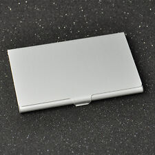 Card holder wallets for men ebay stainless steel silver aluminium business id credit card holder pocket box case colourmoves